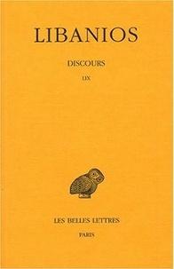 Libanios - Discours - Tome 4, Discours LIX.
