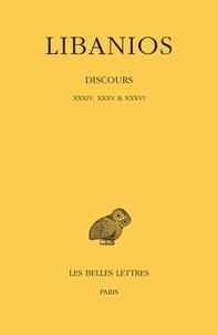 Libanios - Discours - XXXIV, XXXV & XXXVI.
