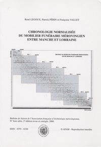 René Legoux - Bulletin de liaison de l'AFAM Hors série, 2006 : Chronologie normalisée du mobilier funéraire mérovingien entre Manche et Lorraine.