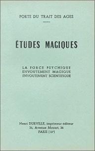Librairie du magnétisme - Etudes magiques.