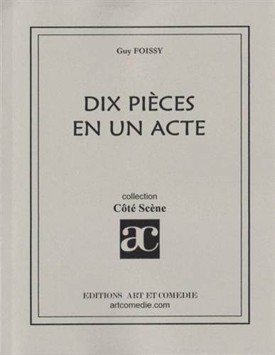 Dix pièces en un acte