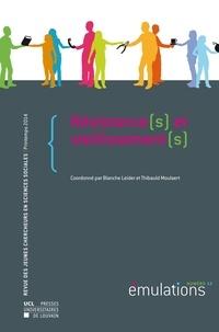 Blanche Leider et Thibauld Moulaert - Emulations N° 13, Printemps 201 : Résistance(s) et vieillissement(s).