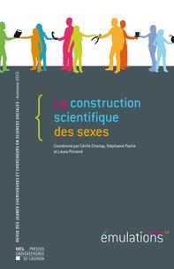 Cécile Charlap et Stéphanie Pache - Emulations N° 15, Automne 2015 : La construction scientifique des sexes.