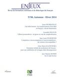 Anne Delbrayelle et Graziella Deleuze - Enjeux N° 88, Automne-Hiver : .