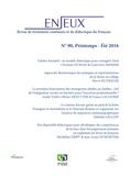 Olivier Dezutter et Micheline Dispy - Enjeux N° 90 : Enjeux 90.