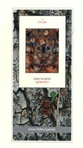 Francis Chenot - L'arbre à paroles N° 144, Eté 2009 : Lieux dits - Kosovo.