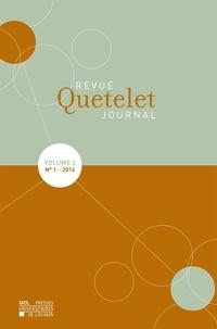 Philippe Bocquier et Thierry Eggerickx - Revue Quetelet N° 1 Volume 2, 2014 : .