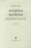 Libreria Editrice Vaticana - Decisiones seu sententiae.