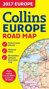 Harper Collins publishers - Collins Europe Road Map.