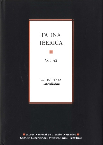 Angeles Ramos Sanchez - Fauna iberica N° 42 : Coleoptera - Latridiidae.