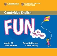 Anne Robinson et Karen Saxby - Fun for Starters. 1 CD audio