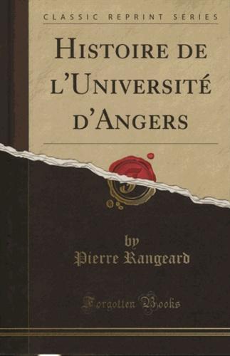 Pierre Rangeard - Histoire de l'Université d'Angers.
