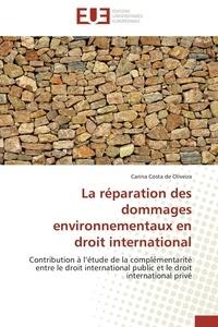 La réparation des dommages environnementaux en droit international - Contribution à létude de la complémentarité entre le droit international public et le droit international privé.pdf