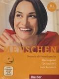 Julia Braun-Podeschwa et Charlotte Habersack - Menschen B1 - Medienpaket. 1 DVD + 1 CD audio