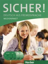 Hueber - Sicher! C1 Deutsch als Fremdsprache - Medienpaket. 2 DVD + 2 CD audio