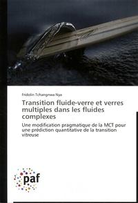 Fridolin Tchangnwa Nya - Transition fluide-verre et verres multiples dans les fluides complexes - Une modification pragmatique de la MCT pour une prédiction quantitative de la transition vitreuse.