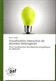 Benoît Lange - Visualisation interactive de données hétérogènes - Pour l'amélioration des dépenses énergétiques du bâtiment.