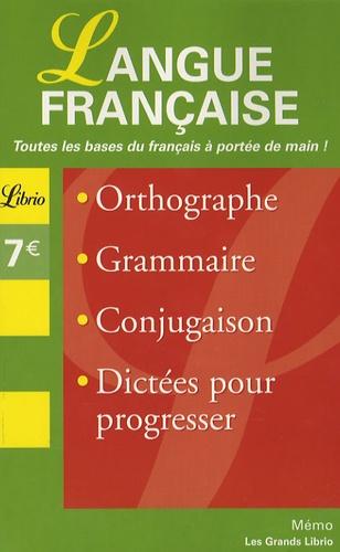 Librio - Langue française.