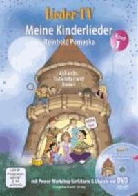 Lieder-TV: Meine Kinderlieder, Band 1 - Akkorde, Tabulatur, Noten. Mit Power-Workshop für Gitarre und Ukulele - inkl. DVD.