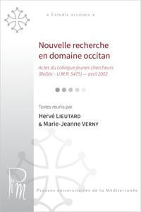 Lieutard Herve - Nouvelle recherche en domaine occitan.
