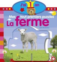 Lieve Boumans - La ferme - Mes tout premiers puzzles J'ai 1 ans.