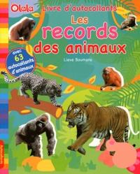 Lieve Boumans - Les records des animaux.