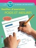 Lieve Jansen et Chris De Smedt - Poids et mesures CM2 10-11 ans - Feuilles d'exercices.
