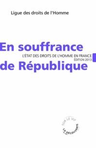 Deedr.fr La République en souffrance - L'état des droits de l'homme en France Image