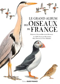 Ligue Protection Oiseaux et François Desbordes - L'album des oiseaux de France.