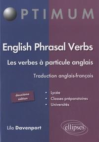 Lila Davenport - English Phrasal Verbs - Les verbes à particule anglais.