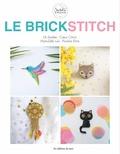 Lili Azalée et  Coeur Citron - Le brick stitch.