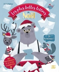 Lili la Baleine - Les plus belles lettres de Noël et la mienne ! - Avec 1 lettre, 1 enveloppe.