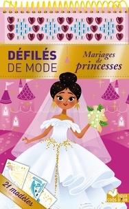 Mariages de princesses - 21 modèles, + de 180 autocollants.pdf