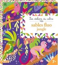 Sables fluo jungle- Avec 5 tableaux, 4 tubes de de sable et une spatule -  Lili la Baleine | Showmesound.org
