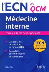 Lilian Alix - Médecine interne.