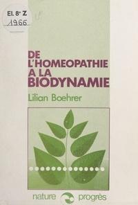 Lilian Bœhrer et Xavier Florin - De l'homéopathie à la biodynamie - La notion de dynamisme et les associations de plantes.