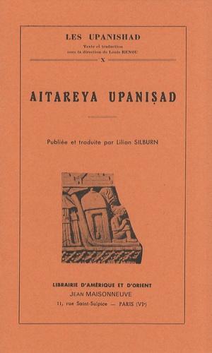 Lilian Silburn - Aitareya Upanishad.