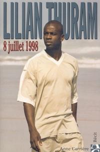 Lilian Thuram - 8 juillet 1998.