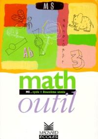 Liliane Baron - Math outil - MS, cycle 1, deuxième année.