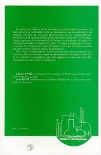 Liliane Voyé et Jean Rémy - La ville, vers une nouvelle définition ?.