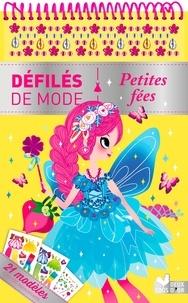 Lilidoll - Petites fées - 21 modèles et + de 200 autocollants.