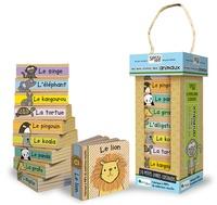 Lillian Pluta et Jillian Phillips - Les mini-livres des animaux - Le panda, le koala, l'alligator, le kangourou, l'éléphant, le pingouin, le lion, le singe, la girafe, la tortue.