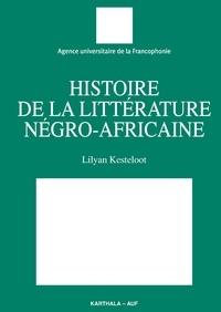 Deedr.fr Histoire de la littérature négro-africaine Image