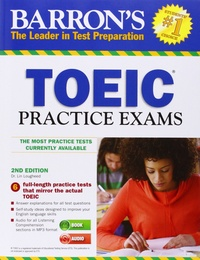 Corridashivernales.be Barron's TOEIC Practice Exams Image