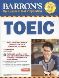 Lin Lougheed - Barron's TOEIC - Test of English for International Communication. 1 CD audio MP3