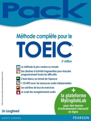 Méthode complète pour le TOEIC + la plateforme MyEnglishLab 5e édition -  avec 1 CD audio MP3
