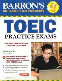 Lin Lougheed - TOEIC Practice Exams. 1 CD audio MP3