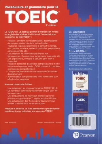 Vocabulaire et grammaire pour le TOEIC 3e édition