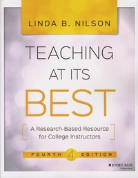 Linda-B Nilson - Teaching at its Best - A Research-Based Resource for College Instructors.