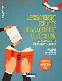 L'enseignement explicite de la lecture et de l'écriture- 40 leçons pour hisser les élèves vers la réussite - Linda-H Mason | Showmesound.org